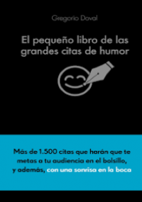 El pequeño libro de las grandes citas de humor