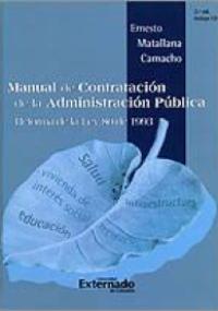 Manual de contratación de la administración pública