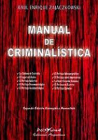 Manual de criminalística