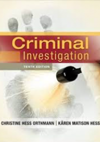 Criminal Investigation