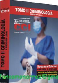 Enciclopedia CCI - Tomo II Criminología