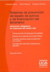 Sistemas de prevención de lavado de activos y de financiación del terrorismo